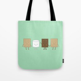 Life is S'more Fun Together (Mint) Tote Bag