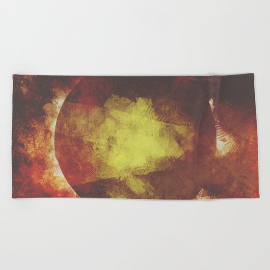 The baby moon Beach Towel
