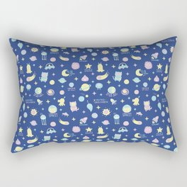 Cute Space! Rectangular Pillow