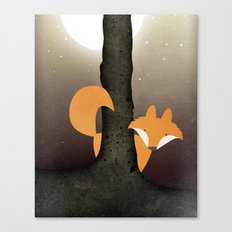 The Forest Fox Canvas Print
