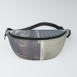 White Barn Red Rooster Fanny Pack