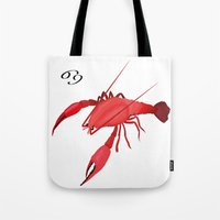 cancer Tote Bags featuring Cancer by Rejdzy