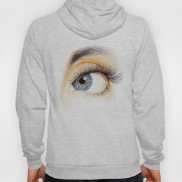 An eye Hoody