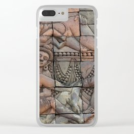 indian art Clear iPhone Case