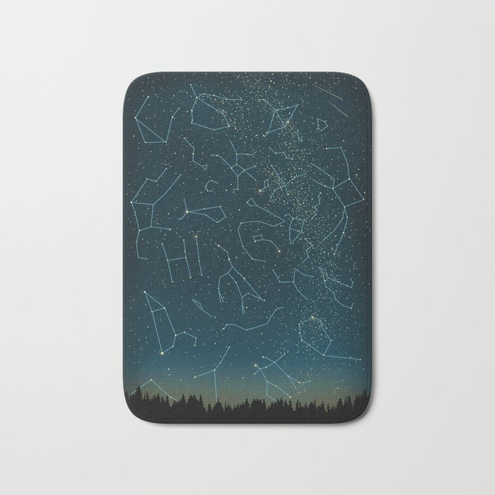 There IS somebody out there! Bath Mat