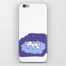 Sleeping Bunny iPhone Skin