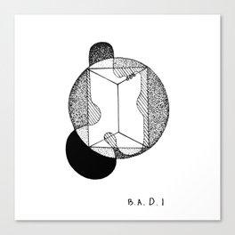 B.A.D I Canvas Print