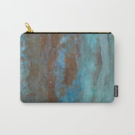 Patina Bronze rustic decor Carry-All Pouch