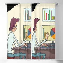 Analyst statistician Blackout Curtain
