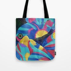 Butterfly Fish Birds Tote Bag