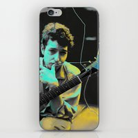 bob dylan iPhone & iPod Skins featuring Bob Dylan by Zmudartist