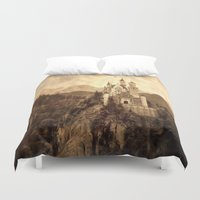 lichtenstein Duvet Covers featuring Lichtenstein Castle by Dan99