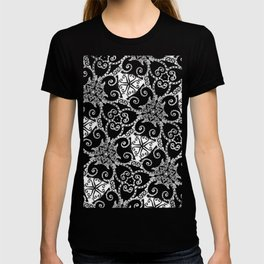 Candy Cane Tangle - Reversed T-shirt