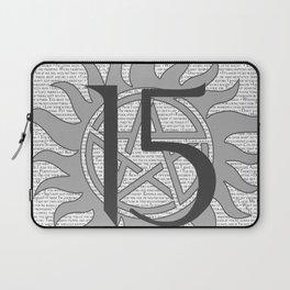 SPN Print (Grey) Laptop Sleeve