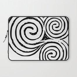 Newgrange Celtic Spiral Laptop Sleeve