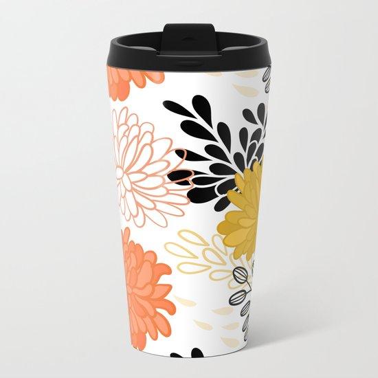Flowers 111 Metal Travel Mug