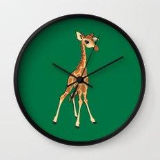 You're Having A Giraffe! Wall Clock