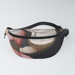 Sano di Pietro - Virgin and Child with Four Angels Fanny Pack