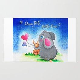 Ellie and Bunny - Dream Big Rug