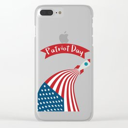 Patriot Day - September 11 - Send the best Wish to those who suffered Clear iPhone Case