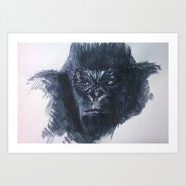 Concept Art Kong Art Print