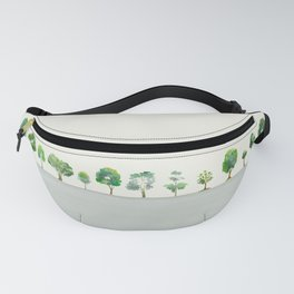 A Row Of Trees Fanny Pack