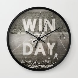 Win the Day Wall Clock