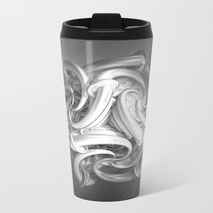 Relentless Recurrence Metal Travel Mug