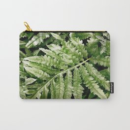 Lush Ferns Carry-All Pouch
