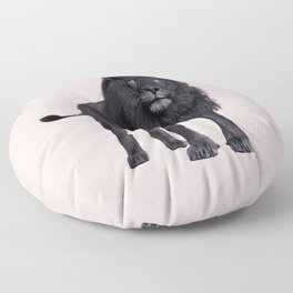 BLACK LION Floor Pillow