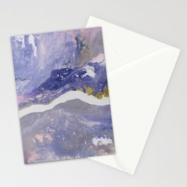 Liquid Rainbow Mountain Stream Stationery Cards