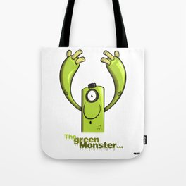 THE GREEN MONSTER... Tote Bag