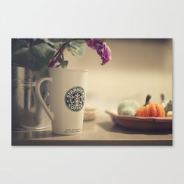 More coffee Canvas Print