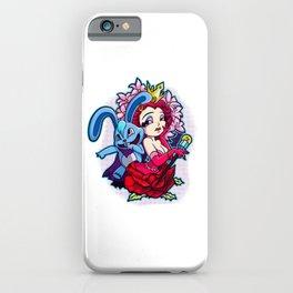 Wonderland: The Rabbit & The Queen iPhone Case