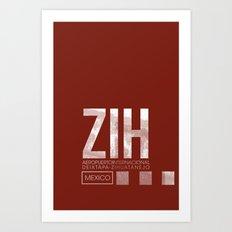 ZIH Art Print