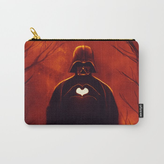 Heart Vader Carry-All Pouch