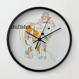 Bullshit Wall Clock