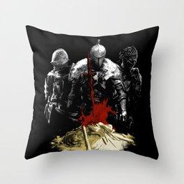 Nameless Accursed Undead Throw Pillow