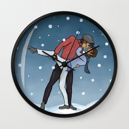 Klancey christmas Wall Clock