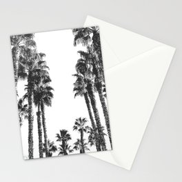 Palm Tree Days {2 of 2} Tropical Black and White Cali Art Print Stationery Cards