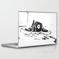 converse Laptop & iPad Skins featuring CONVERSE by PixelRiff