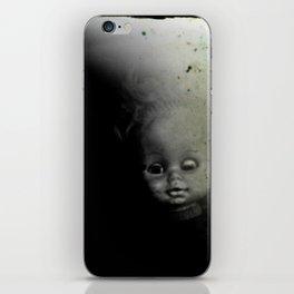 Ghostly Doll Head iPhone Skin