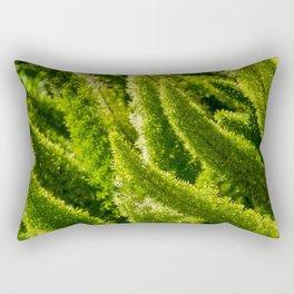 Green world Rectangular Pillow