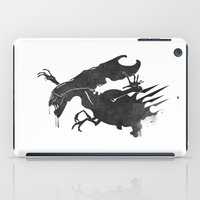 xenomorph iPad Cases featuring The Queen Alien by DWatson