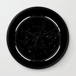 Artificial Stars by Artificial Lights Wall Clock