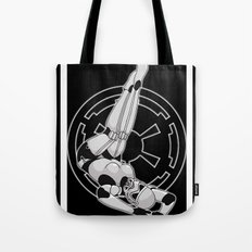 Star Wars Stormtrooper pinup Tote Bag