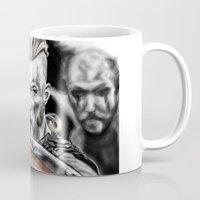 vikings Mugs featuring vikings by Flyens