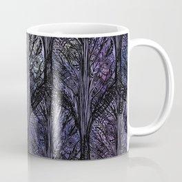 Dark Veil Trees Coffee Mug