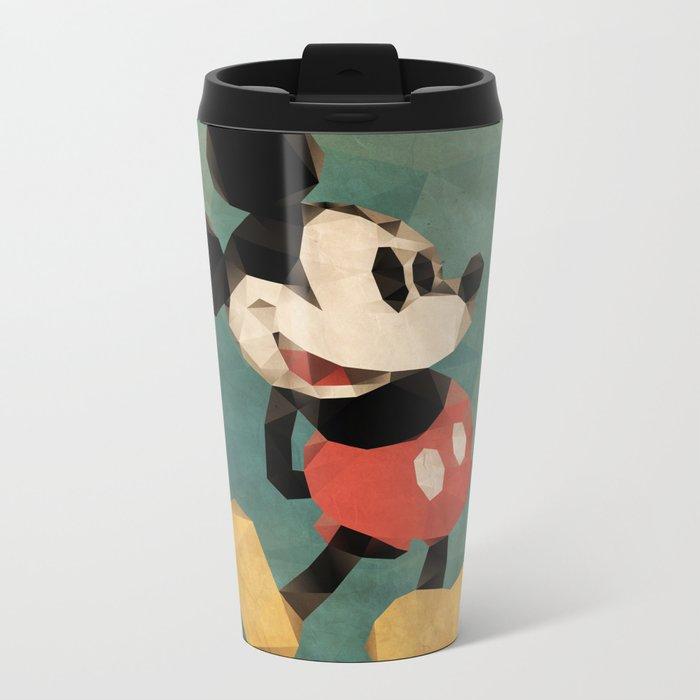 Mr. Mickey Mouse Metal Travel Mug