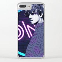 V BTS - Kim Tae-hyung Clear iPhone Case